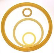 Полиуретановое уплотнительное поршневое кольцо 25x31x10 фото