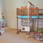 Детская игровая кровать чердарк Abra-Kids