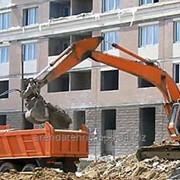 Вывоз строительного мусора аренда самосвала фото