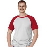 Мужская спортивная футболка StanPrint 30 Белый-Красный XXL/54 фото