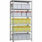 Металлический стеллаж МС-900 2500х1000х300(6полок) фото