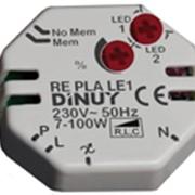 Светорегулятор для светодиодных ламп RE PLA LE1, DINUY фото