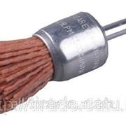 Щетка дисковая для дрели, стальная со шпилькой, 60мм Код:3517-060 фото