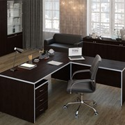 Комплект офисной мебели Свифт Темный К1 фото