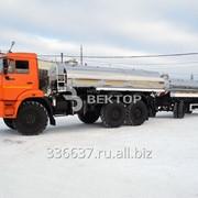 Автоцистерна пищевая АЦПТ-9,5П КАМАЗ-43118 фото