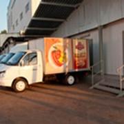 Доставка продуктов питания. фото