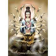 Картина стразами Богиня Милосердия 50х70см фото