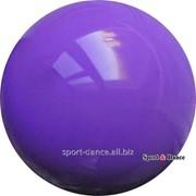 Мяч фиолетовый,16см, вес 320 гр. фото