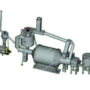 Барабанный сушильный агрегат АВМ-0,65 фото