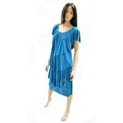 Платье Klimini Мальдивы. Цвет: бирюзовый фото