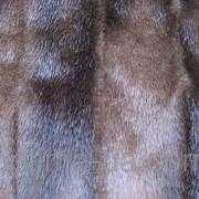 Норка стрижка седая серая коричневая фото