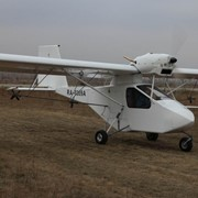 Самолёт для авиахим работ «СК-01». фото