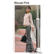 Блузка-Розовый
