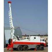 Подъемник каротажный самоходный с гидравлическим приводом ПКС-5 с телескопической мачтой фото