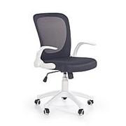 Кресло компьютерное Halmar HOUSE (белый/черный) фото