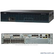 Маршрутизатор Cisco 2921 UC Bundle, PVDM3-32, UC License PAK (CISCO2921-V/K9) фото