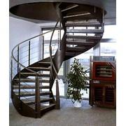 Лестницы метал фото