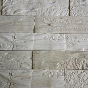Плитка (искусственный камень) - кирпич вертикальный фото