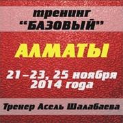Базовый тренинг 21-23,25 ноября 2014г В Алматы (1 ступень, личностный рост) фото