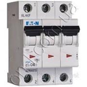 Автоматический выключатель 32 А трехфазный, кривая C, PL4-C32/3 Moeller фото