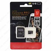 MicroSDHC Disk Extreme Pro 32 GB + фото