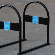 Велопарковка на 4 велосипеда фото