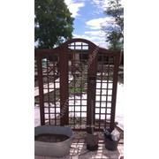 Строительство садовых арок фото