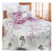 Комплект постельного белья Сова и Жаворонок Японский мотив фото