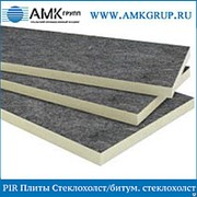 PIR Плита Стеклохолст/битумный стеклохолст 100мм фото