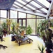 Зимний сад из алюминия фото