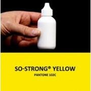 Жидкий концентрированный краситель желтого цвета для полиуретанов So-Strong Yellow фото