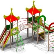 Уличный спортивно-игровой комплекс Магнолия для детей 6-12 лет фото