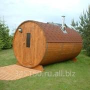 Баня-бочка (2,2 м х 3 м) в Воронеже фото