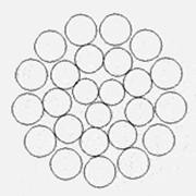 Канат стальной типа 1х25(3+9+13) ТУ 14-4-297 фото