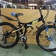 Велосипед ROLIZ 26-4250 черно-синий фото