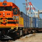 Доставка грузов Ж\Д транспортом фото