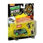 Микро. Скоростной кабриолет Черепашек-ниндзя с фигурками лихачей Майки и Донни фото
