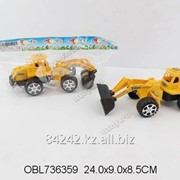 Автотранспортная игрушка Спецтехника инерционная 24см, пак. G01 фото