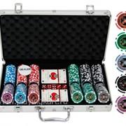 Покерный набор на 300 фишек с номиналом ГД5 - 300 фото