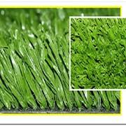 Искусственная трава для тренировочных футбольных полей, школьных и дворовых площадок высота ворса 40 мм Фибриллированная фото
