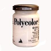 Акриловая краска polycolor, 140 мл, белила платиновые Арт. 1220017 фото