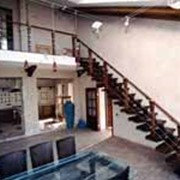 Лестницы прямые на консолях фото