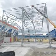 Монтаж металлоконструкций и ВОК фото