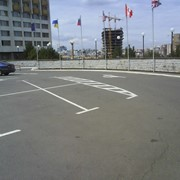 Разметка паркинга фото