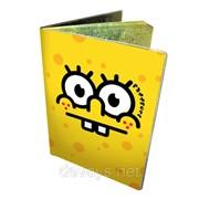 Оригинальная обложка для паспорта Спанч Боб фото