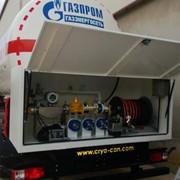 Транспортировщик для СУГ (полуприцеп-автоцистерна) фото