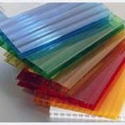 Поликарбонат 8мм 6000х2100 цветной фото
