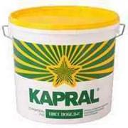 Краска в/д Kapral P-12 14 кг белая фото