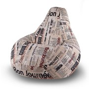 Кресло мешок Газета фото