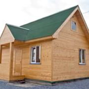 Каркасно-щитовой дом фото